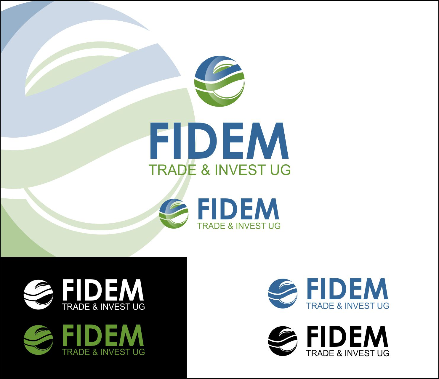 Logo Design by Agus Martoyo - Entry No. 290 in the Logo Design Contest Professional Logo Design for FIDEM Trade & Invest UG.