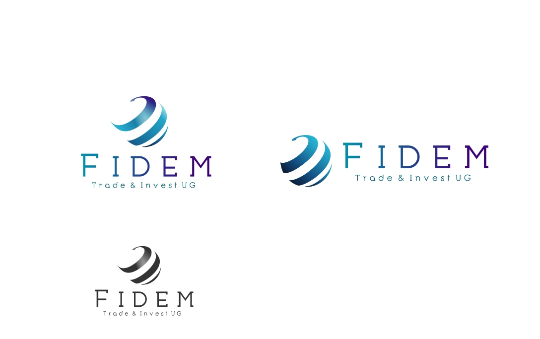 Logo Design by Private User - Entry No. 291 in the Logo Design Contest Professional Logo Design for FIDEM Trade & Invest UG.