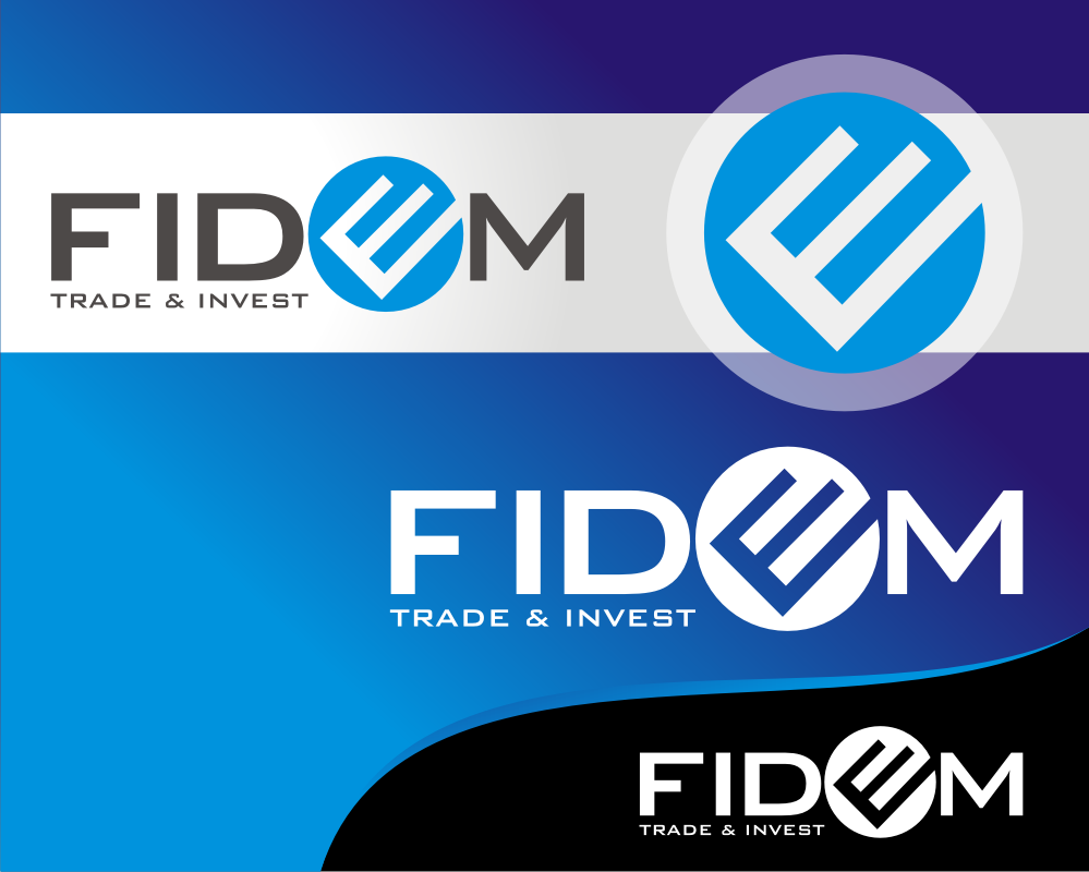 Logo Design by Heru budi Santoso - Entry No. 295 in the Logo Design Contest Professional Logo Design for FIDEM Trade & Invest UG.