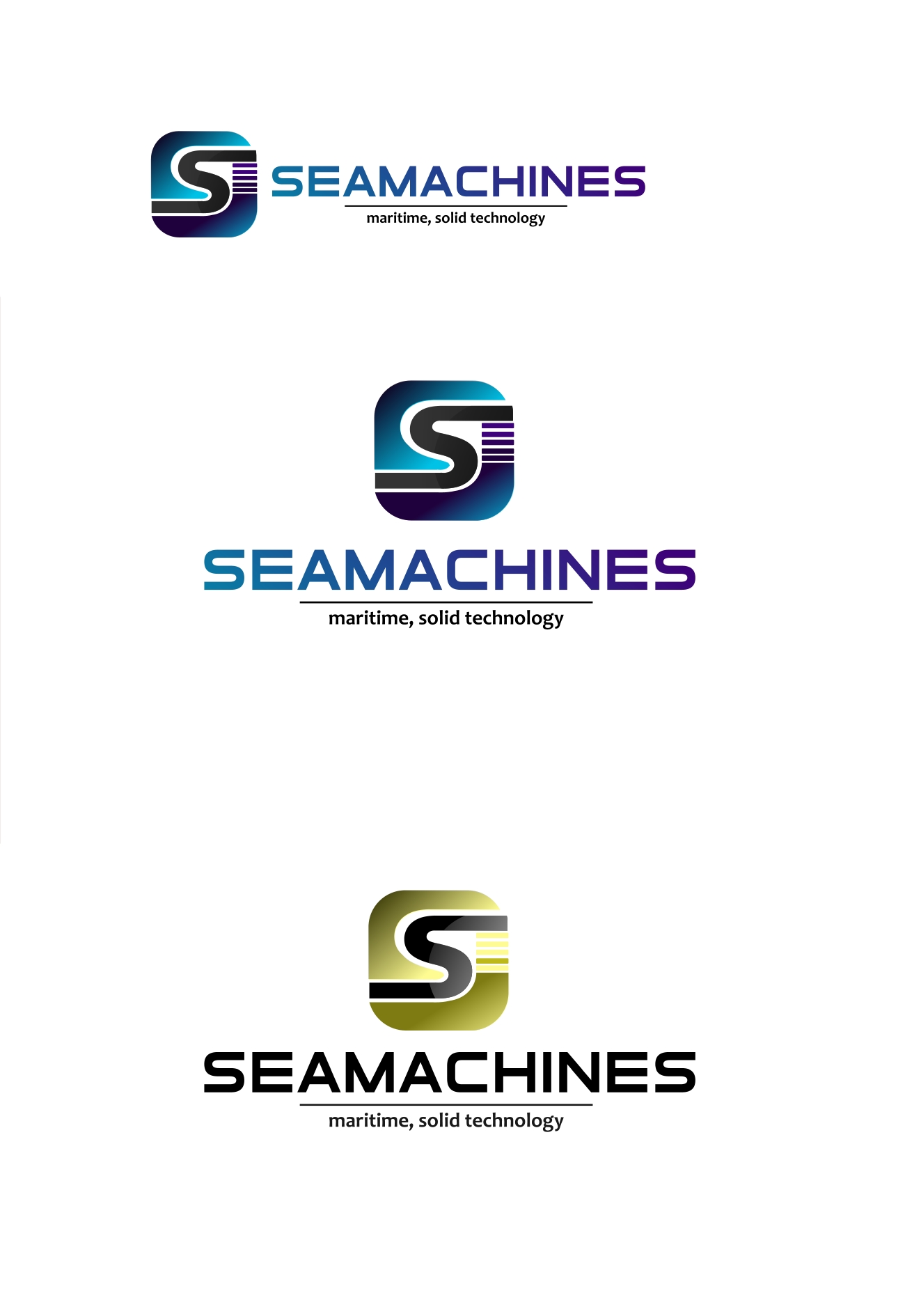 Logo Design by Private User - Entry No. 84 in the Logo Design Contest Creative Logo Design for SeaMachines.