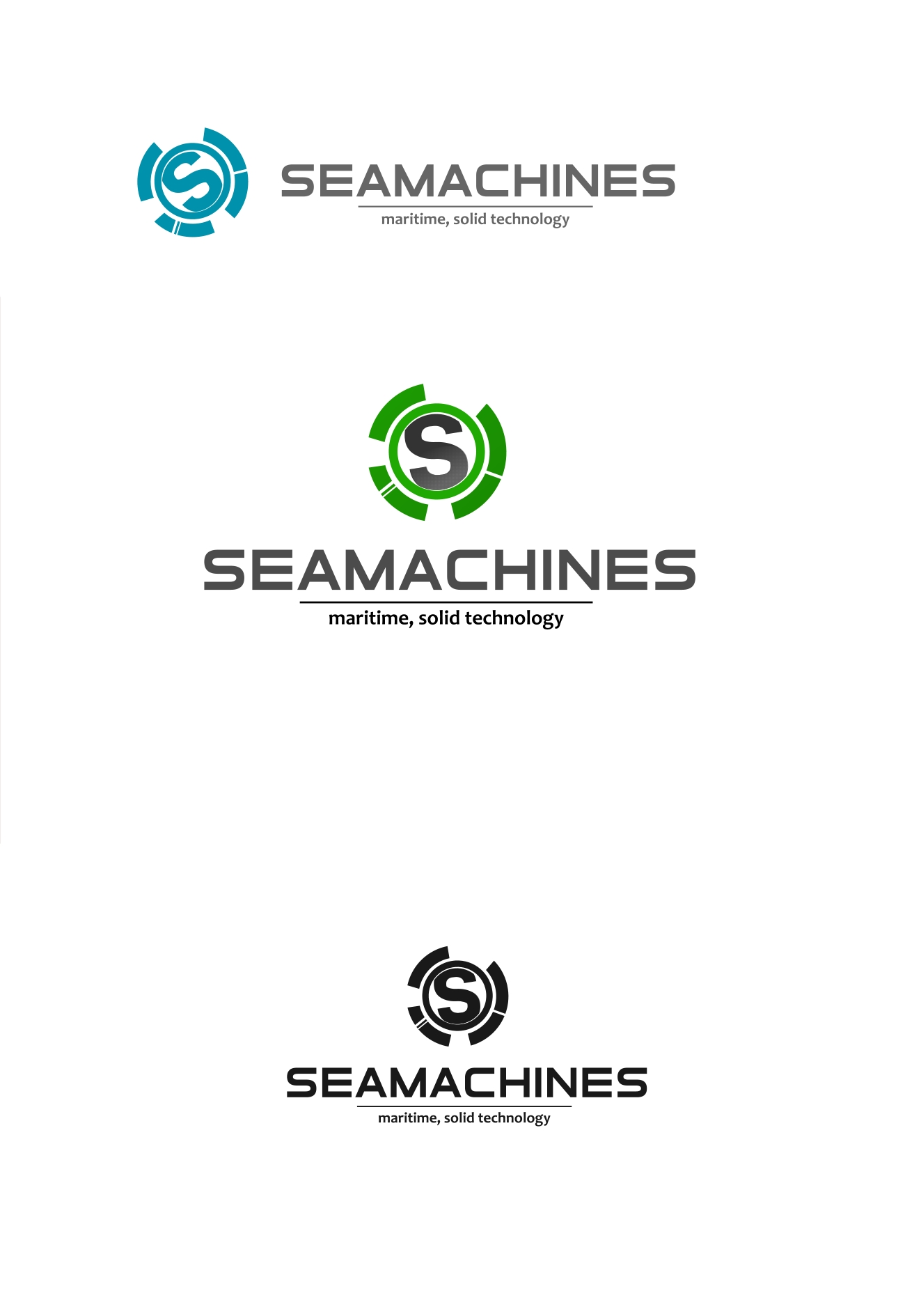 Logo Design by Private User - Entry No. 85 in the Logo Design Contest Creative Logo Design for SeaMachines.