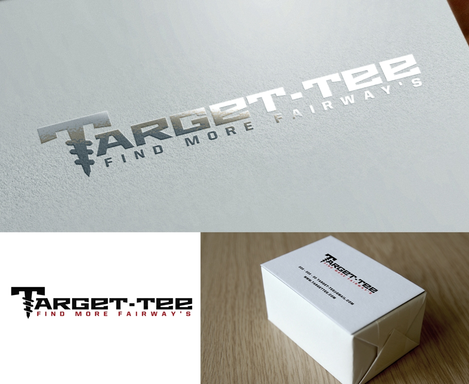 Logo Design by Juan_Kata - Entry No. 165 in the Logo Design Contest Imaginative Logo Design for TARGET-TEE.