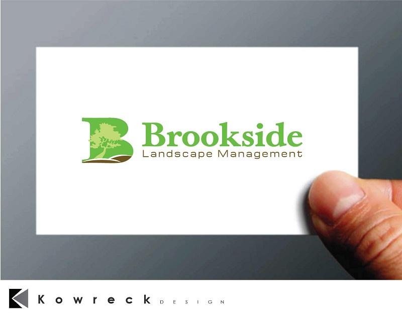 Logo Design by kowreck - Entry No. 74 in the Logo Design Contest New Logo Design for Brookside Landscape Management.