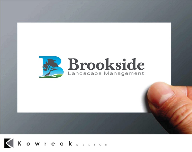 Logo Design by kowreck - Entry No. 75 in the Logo Design Contest New Logo Design for Brookside Landscape Management.