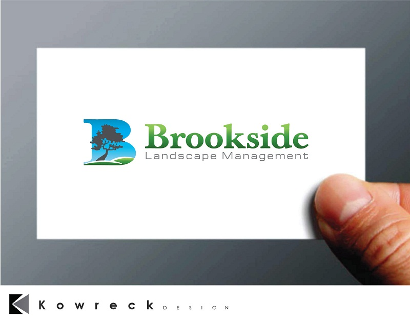 Logo Design by kowreck - Entry No. 78 in the Logo Design Contest New Logo Design for Brookside Landscape Management.