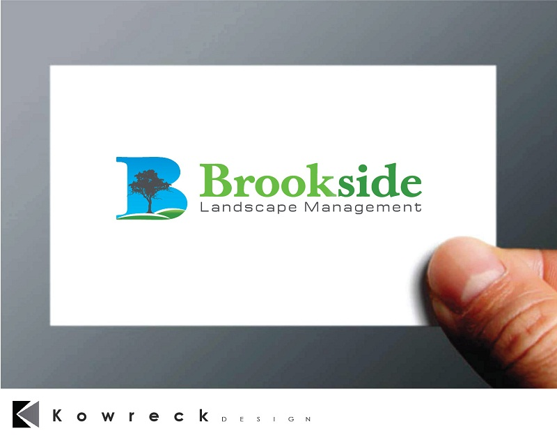 Logo Design by kowreck - Entry No. 79 in the Logo Design Contest New Logo Design for Brookside Landscape Management.