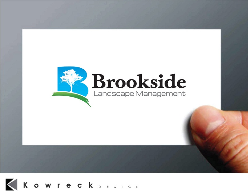 Logo Design by kowreck - Entry No. 80 in the Logo Design Contest New Logo Design for Brookside Landscape Management.