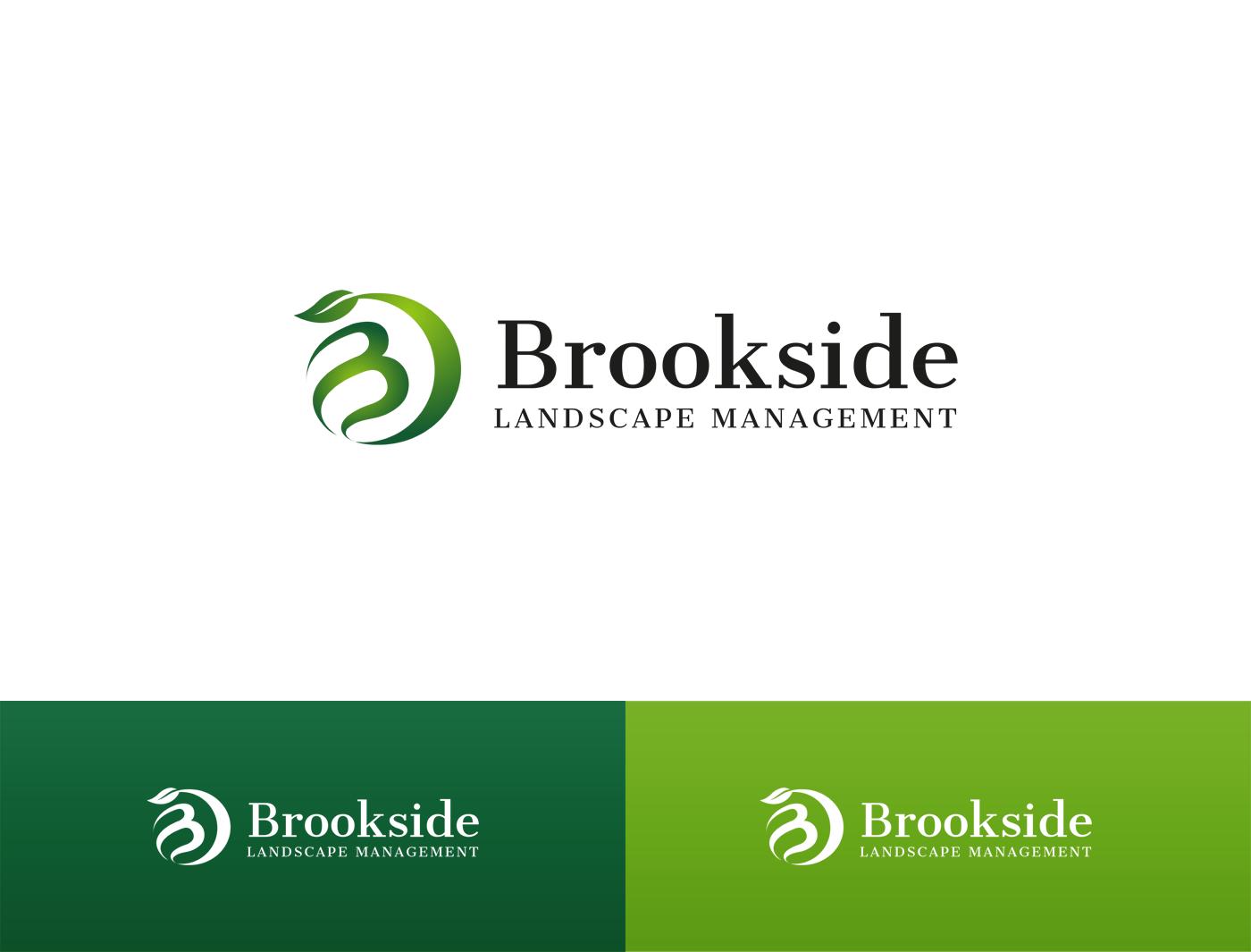 Logo Design by Alexander Osokin - Entry No. 82 in the Logo Design Contest New Logo Design for Brookside Landscape Management.
