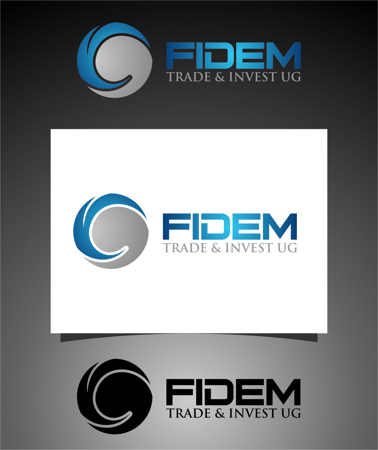 Logo Design by Ngepet_art - Entry No. 308 in the Logo Design Contest Professional Logo Design for FIDEM Trade & Invest UG.