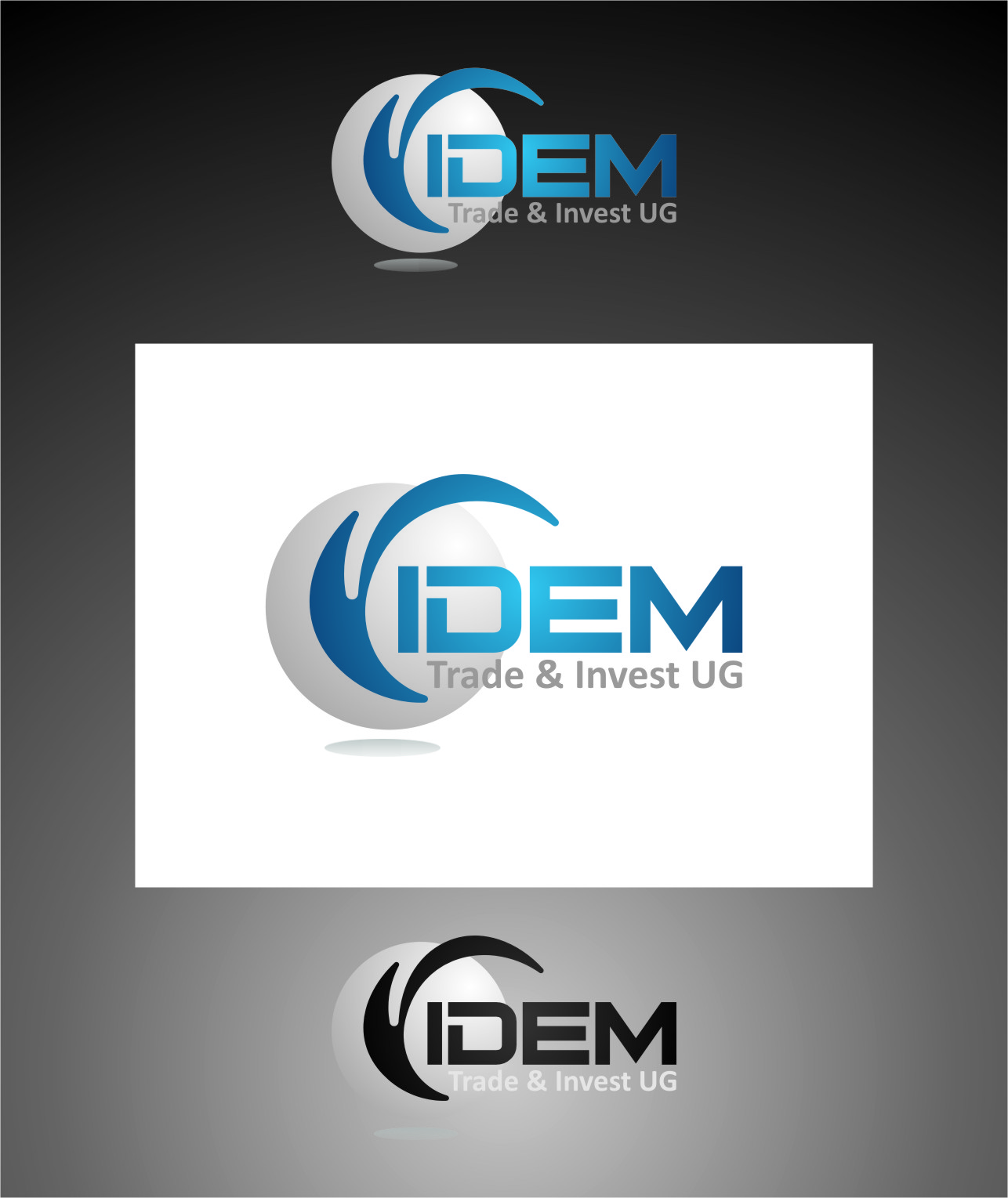 Logo Design by RasYa Muhammad Athaya - Entry No. 309 in the Logo Design Contest Professional Logo Design for FIDEM Trade & Invest UG.