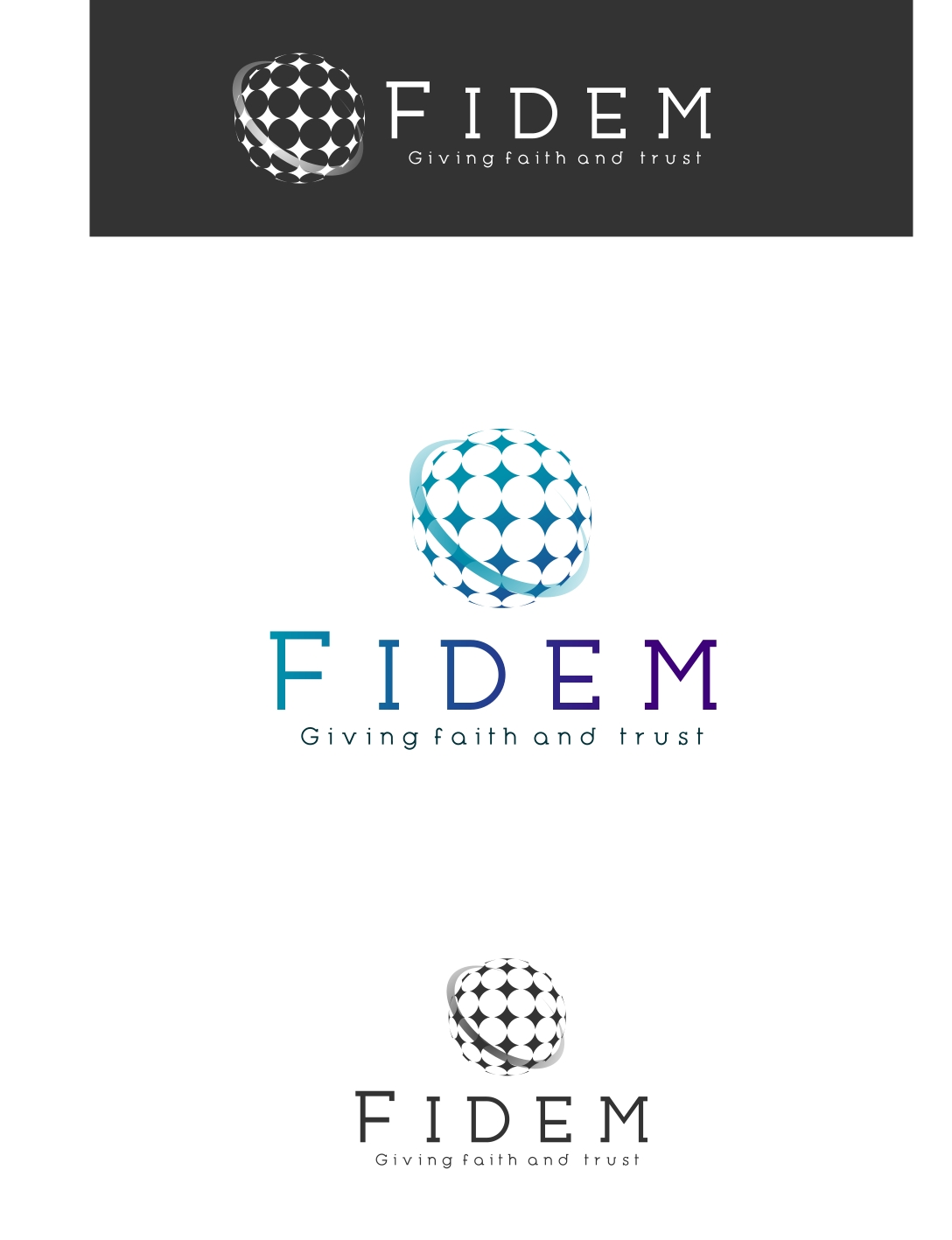 Logo Design by Private User - Entry No. 312 in the Logo Design Contest Professional Logo Design for FIDEM Trade & Invest UG.