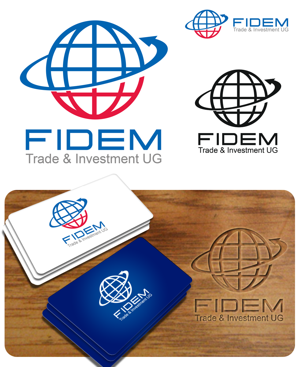 Logo Design by Private User - Entry No. 314 in the Logo Design Contest Professional Logo Design for FIDEM Trade & Invest UG.