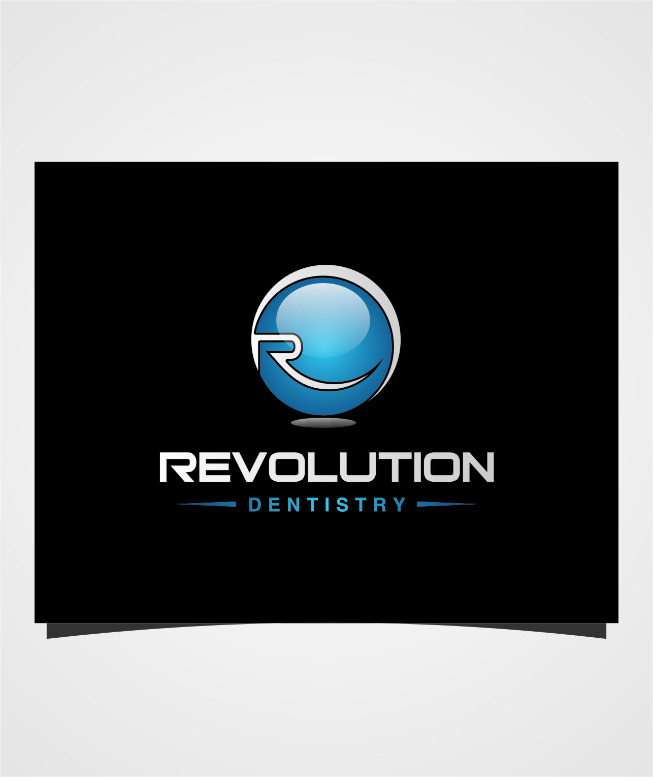 Logo Design by RasYa Muhammad Athaya - Entry No. 27 in the Logo Design Contest Artistic Logo Design for Revolution Dentistry.