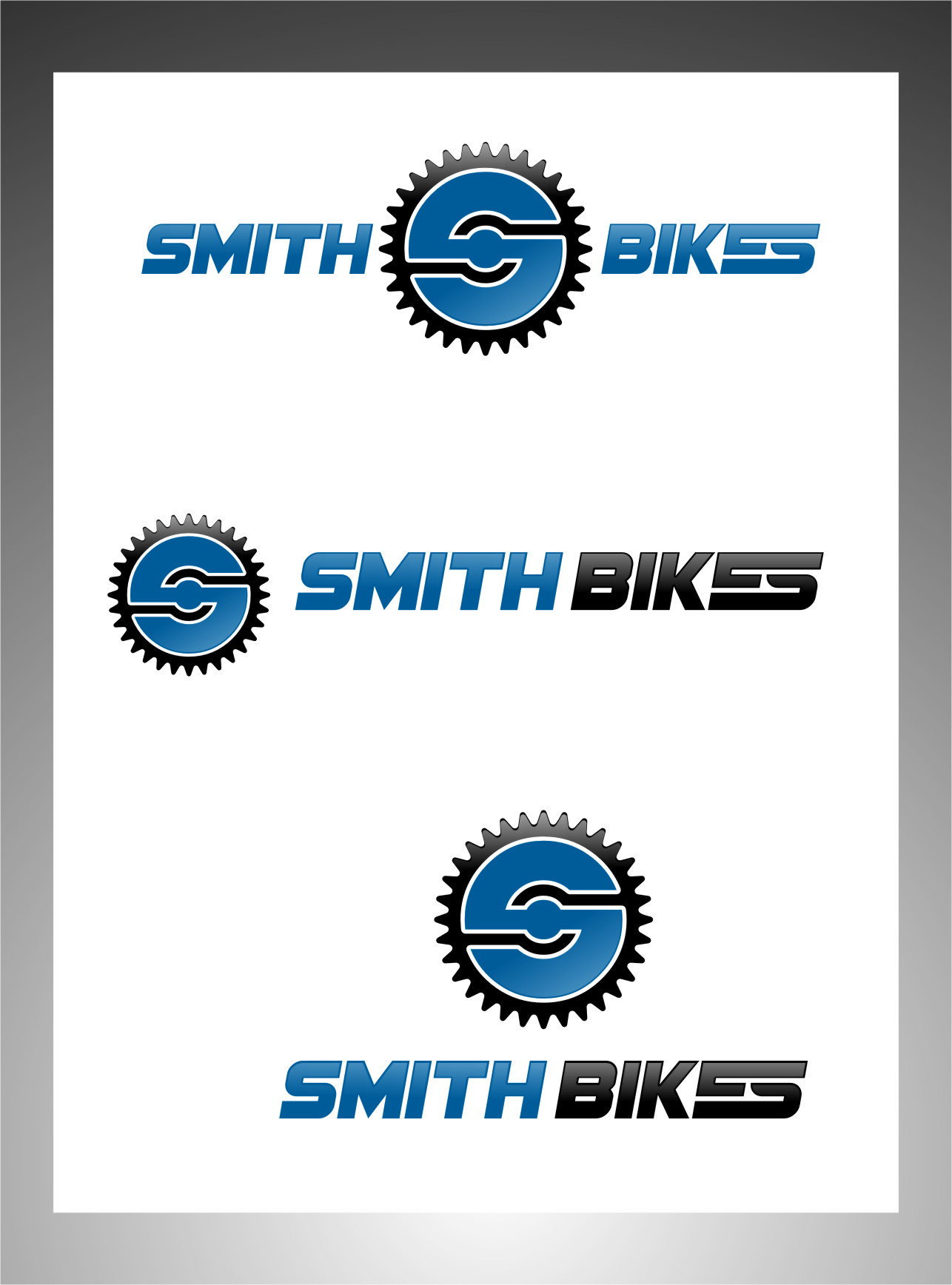 Logo Design by RasYa Muhammad Athaya - Entry No. 176 in the Logo Design Contest Fun Logo Design for SMITH BIKES.