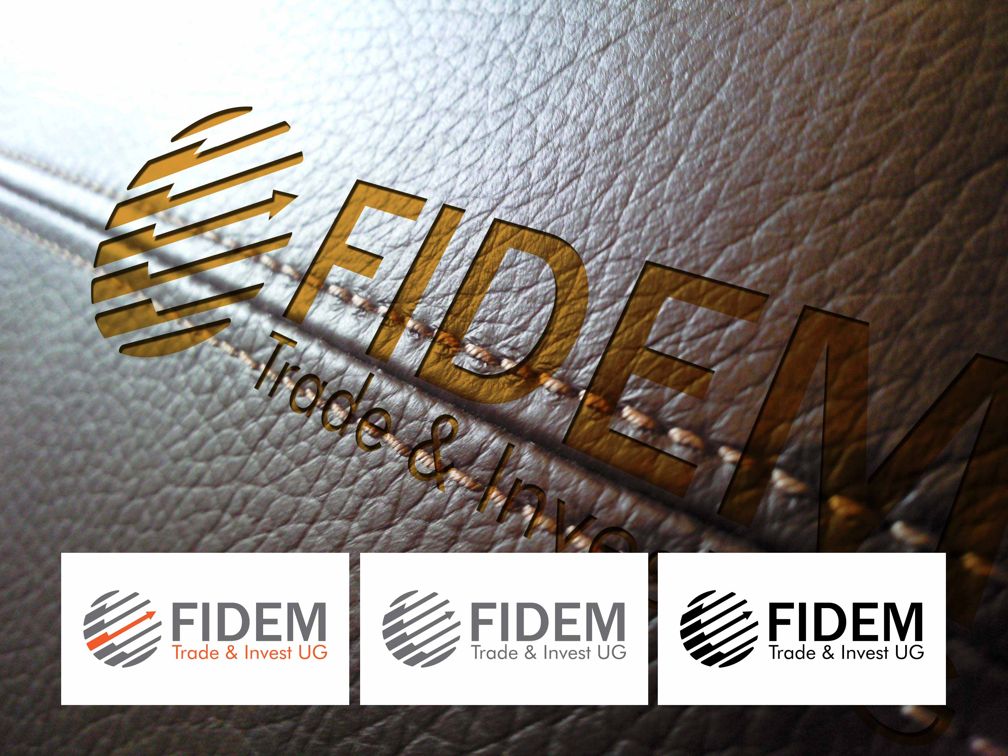 Logo Design by lagalag - Entry No. 319 in the Logo Design Contest Professional Logo Design for FIDEM Trade & Invest UG.