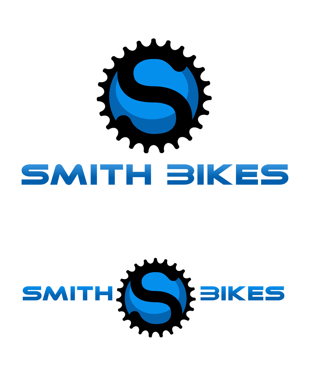 Logo Design by Private User - Entry No. 187 in the Logo Design Contest Fun Logo Design for SMITH BIKES.