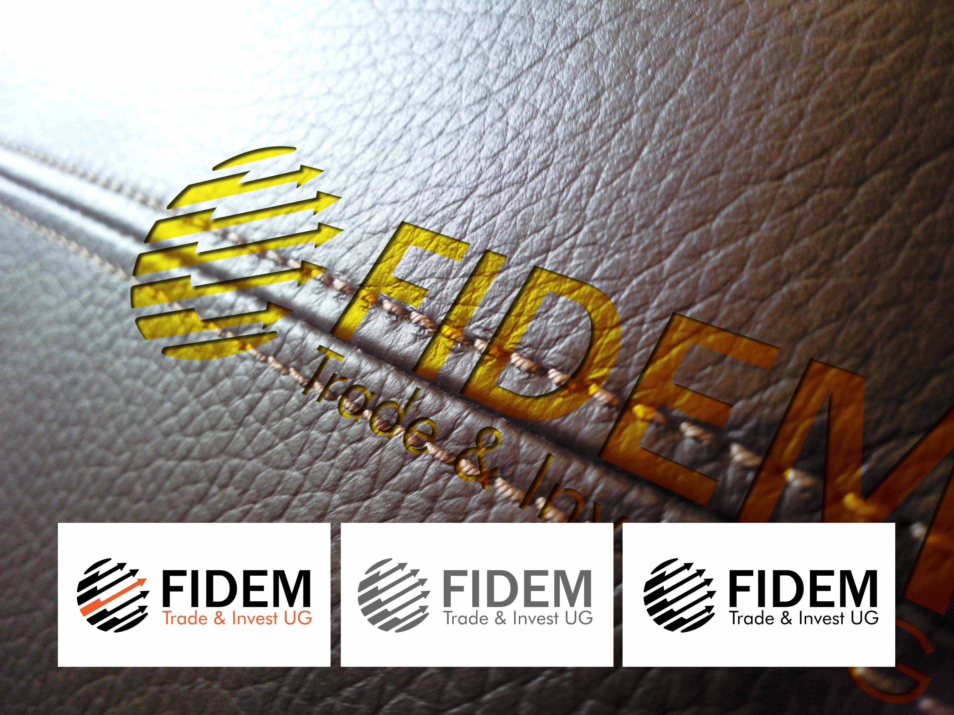 Logo Design by lagalag - Entry No. 322 in the Logo Design Contest Professional Logo Design for FIDEM Trade & Invest UG.