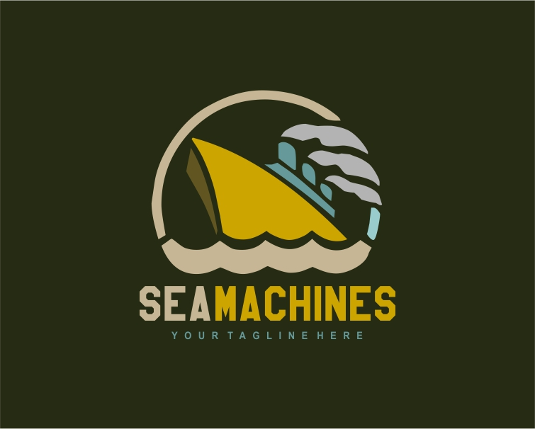 Logo Design by Private User - Entry No. 102 in the Logo Design Contest Creative Logo Design for SeaMachines.