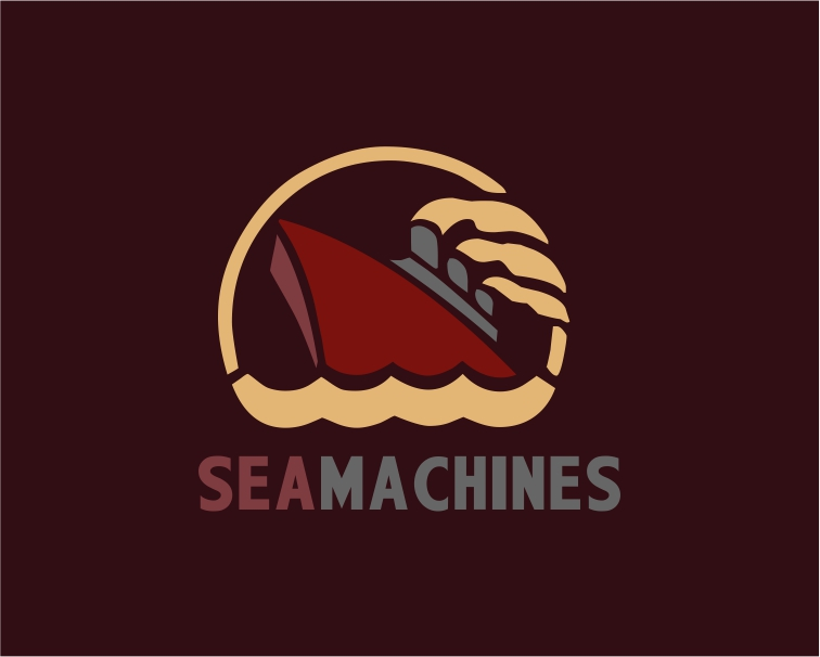 Logo Design by Private User - Entry No. 104 in the Logo Design Contest Creative Logo Design for SeaMachines.