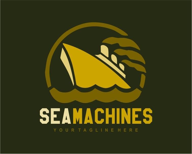 Logo Design by Private User - Entry No. 108 in the Logo Design Contest Creative Logo Design for SeaMachines.