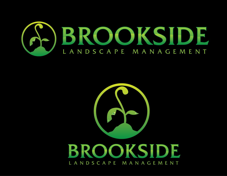Logo Design by rA - Entry No. 94 in the Logo Design Contest New Logo Design for Brookside Landscape Management.