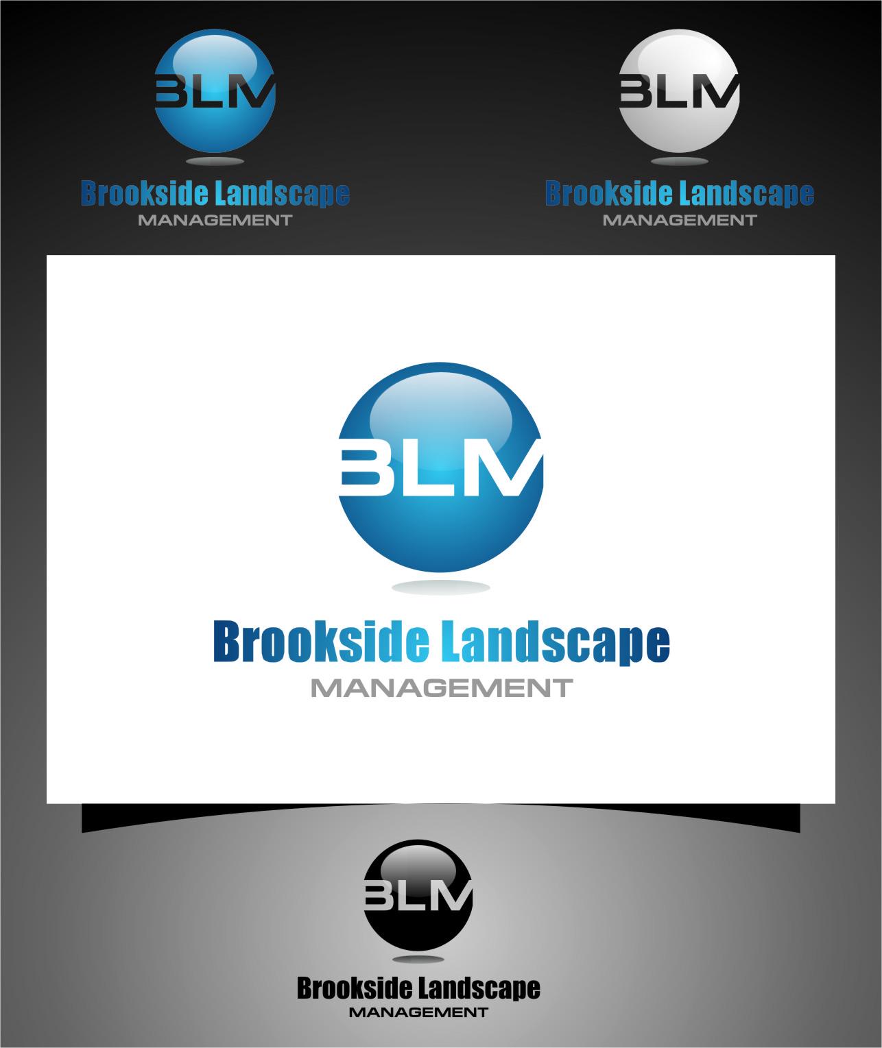 Logo Design by Ngepet_art - Entry No. 99 in the Logo Design Contest New Logo Design for Brookside Landscape Management.