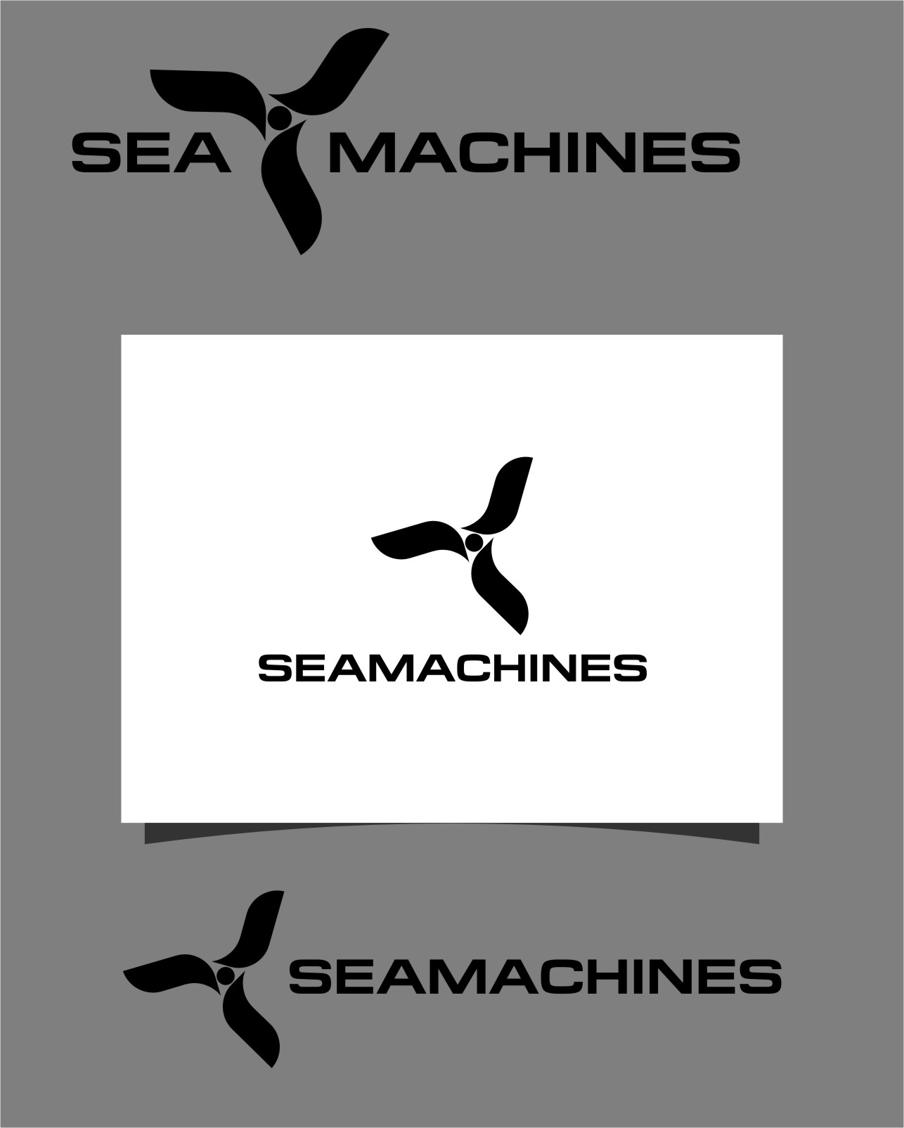 Logo Design by Ngepet_art - Entry No. 115 in the Logo Design Contest Creative Logo Design for SeaMachines.