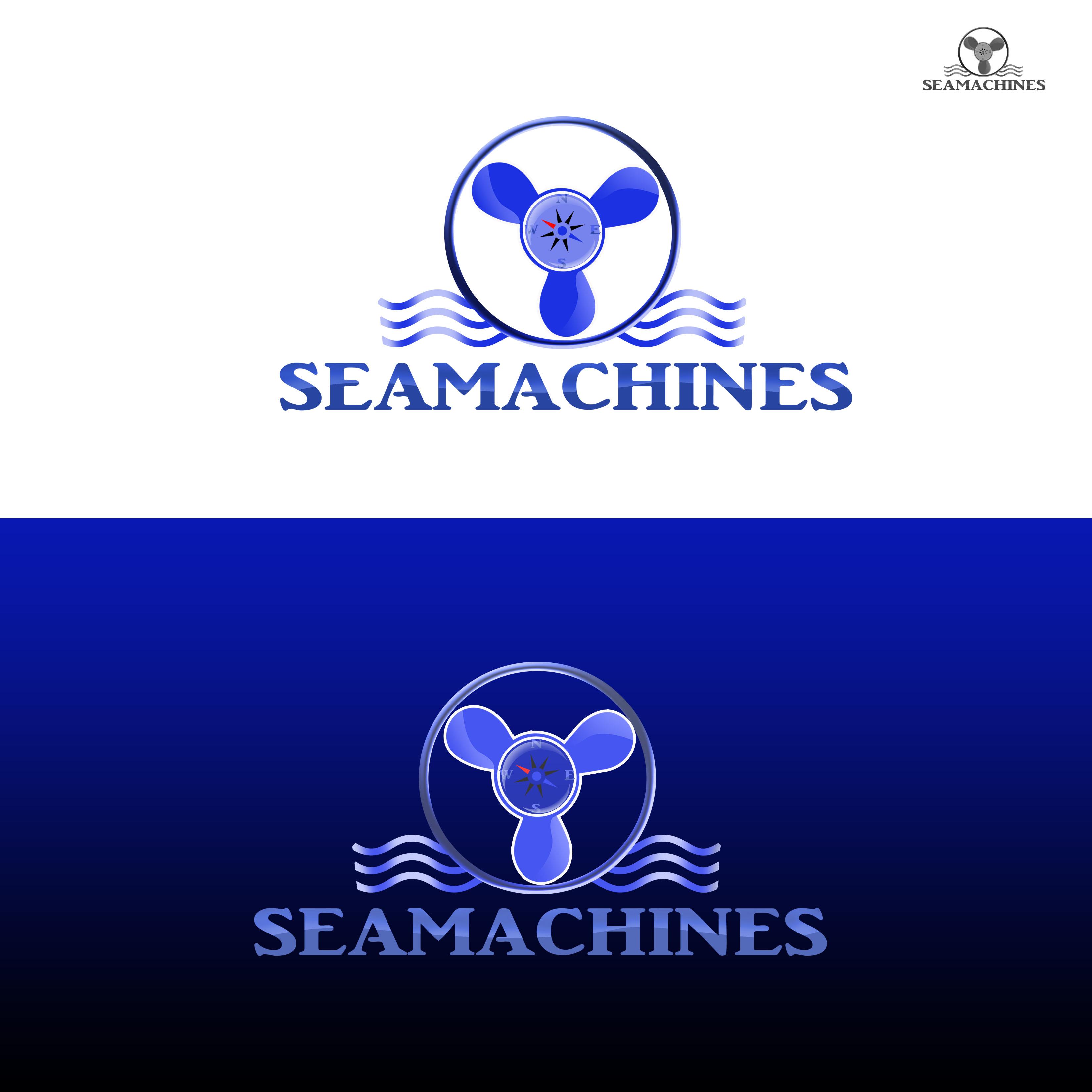 Logo Design by Allan Esclamado - Entry No. 117 in the Logo Design Contest Creative Logo Design for SeaMachines.