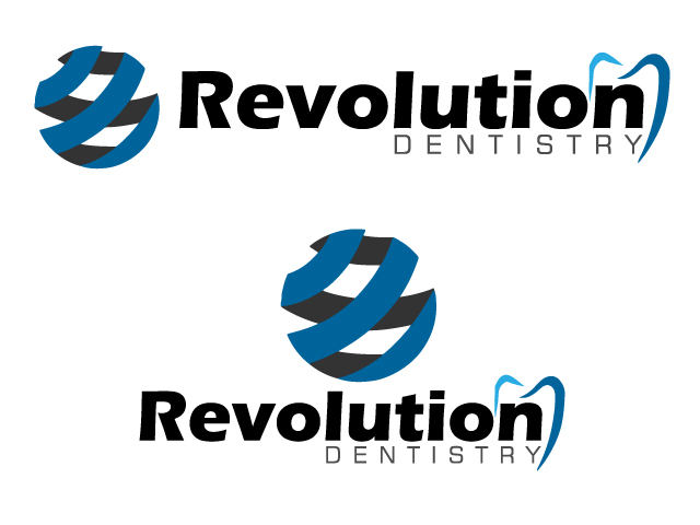 Logo Design by ronik.web - Entry No. 53 in the Logo Design Contest Artistic Logo Design for Revolution Dentistry.