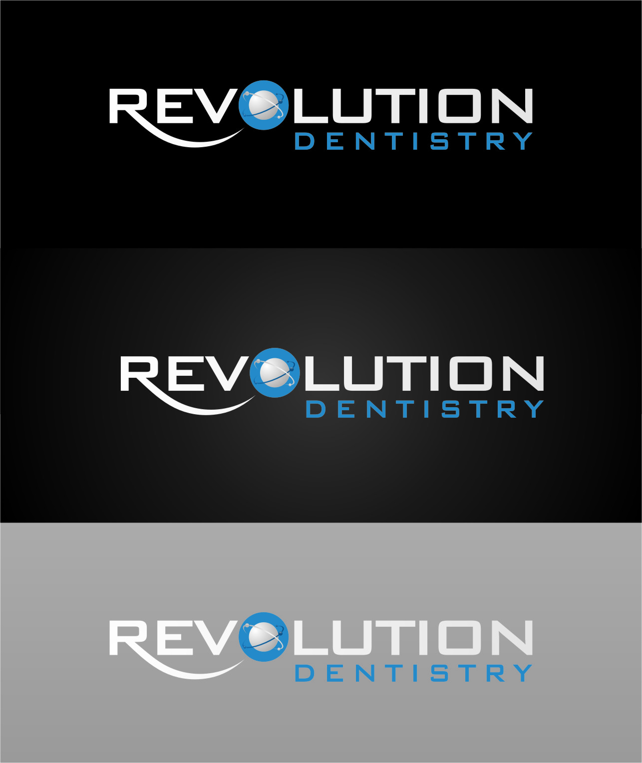 Logo Design by RasYa Muhammad Athaya - Entry No. 55 in the Logo Design Contest Artistic Logo Design for Revolution Dentistry.