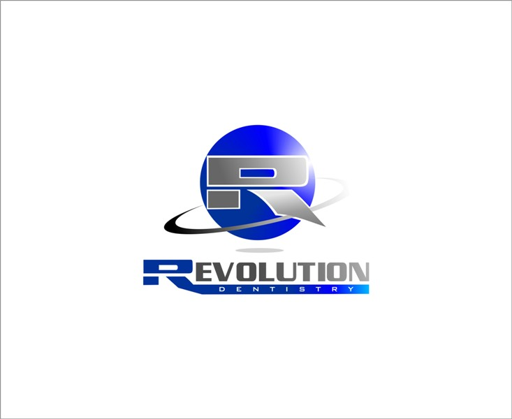 Logo Design by Mhon_Rose - Entry No. 56 in the Logo Design Contest Artistic Logo Design for Revolution Dentistry.