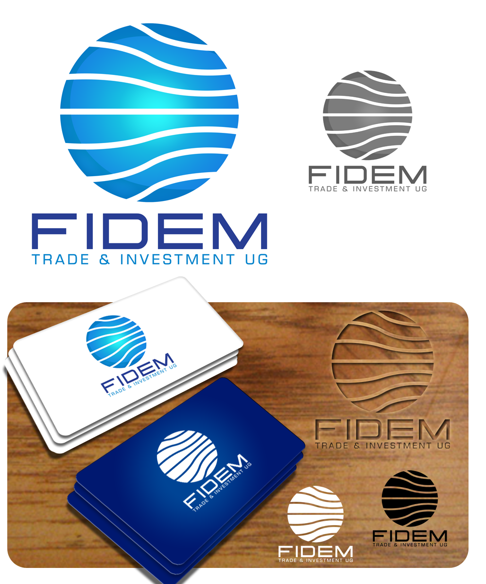Logo Design by Private User - Entry No. 347 in the Logo Design Contest Professional Logo Design for FIDEM Trade & Invest UG.