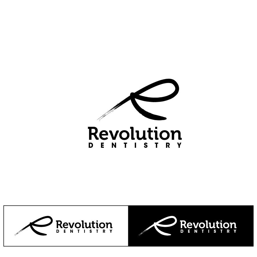 Logo Design by chinie05 - Entry No. 76 in the Logo Design Contest Artistic Logo Design for Revolution Dentistry.