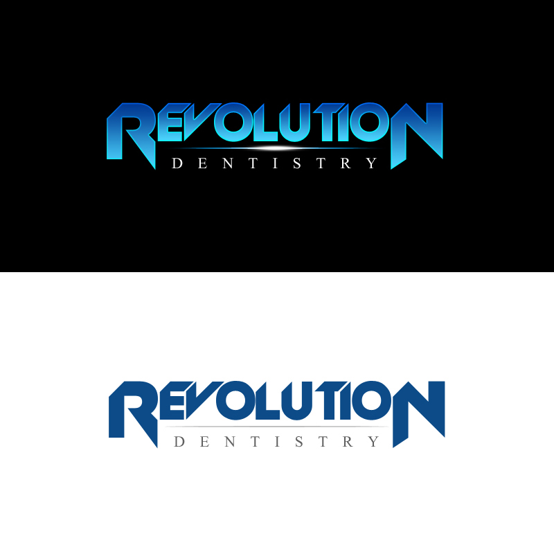 Logo Design by Indika Kiriella - Entry No. 79 in the Logo Design Contest Artistic Logo Design for Revolution Dentistry.