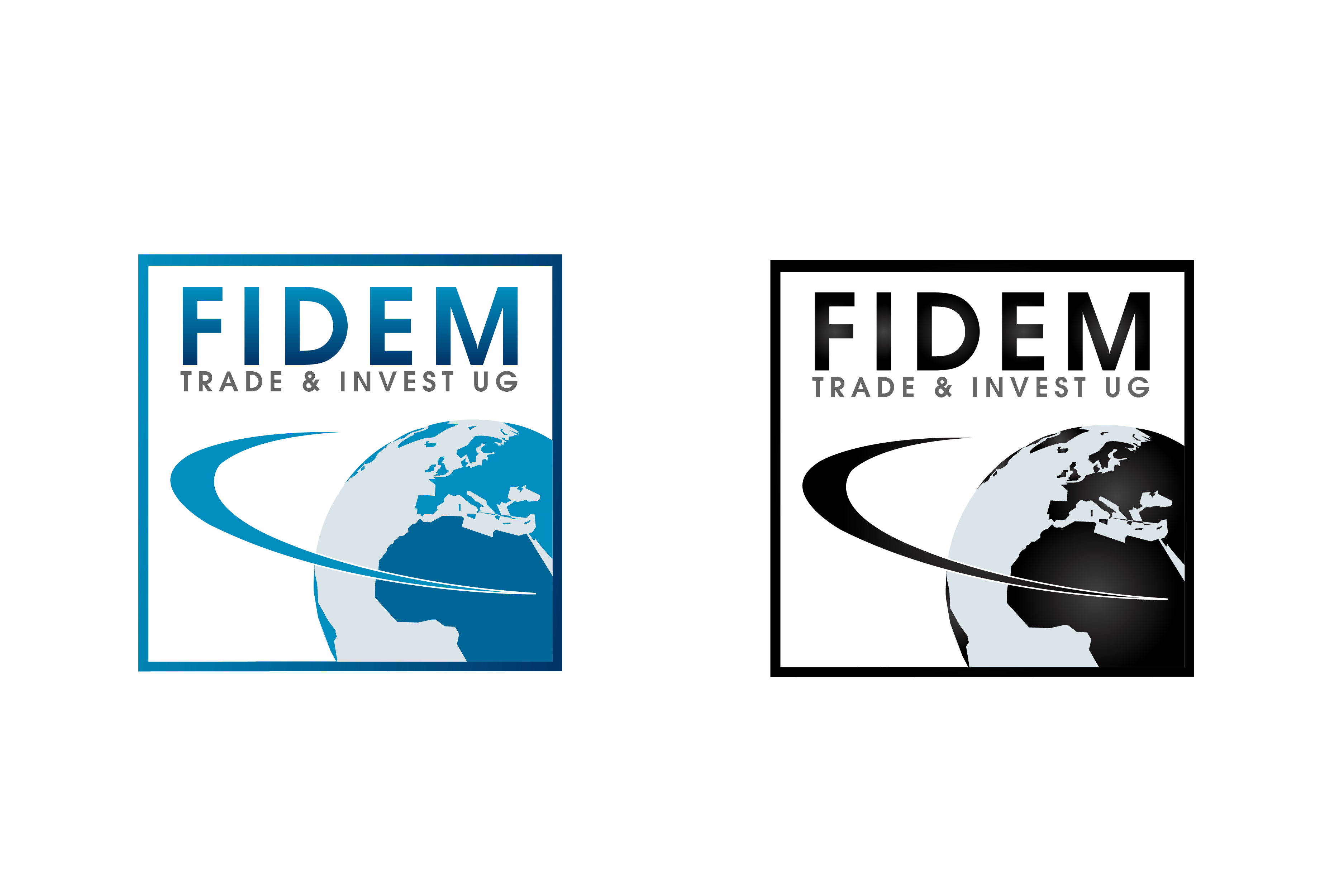 Logo Design by Private User - Entry No. 352 in the Logo Design Contest Professional Logo Design for FIDEM Trade & Invest UG.