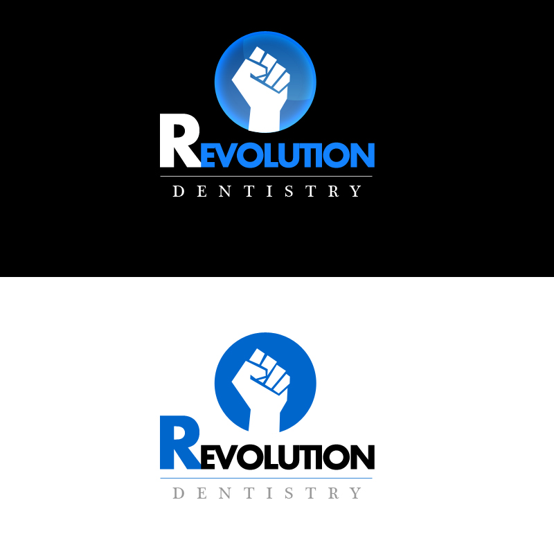 Logo Design by Indika Kiriella - Entry No. 80 in the Logo Design Contest Artistic Logo Design for Revolution Dentistry.