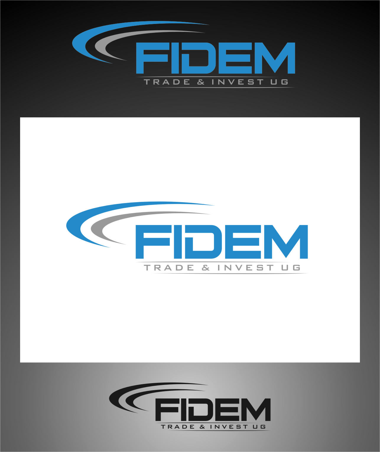 Logo Design by RasYa Muhammad Athaya - Entry No. 357 in the Logo Design Contest Professional Logo Design for FIDEM Trade & Invest UG.