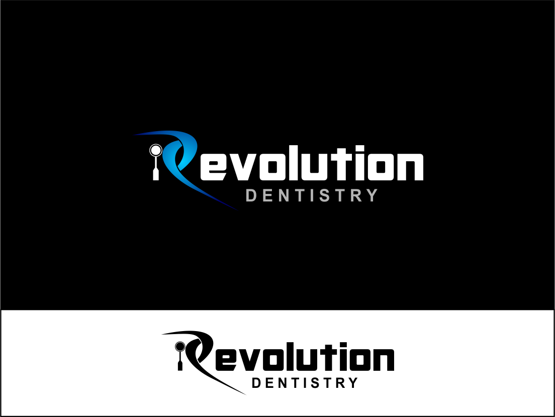 Logo Design by Agus Martoyo - Entry No. 84 in the Logo Design Contest Artistic Logo Design for Revolution Dentistry.