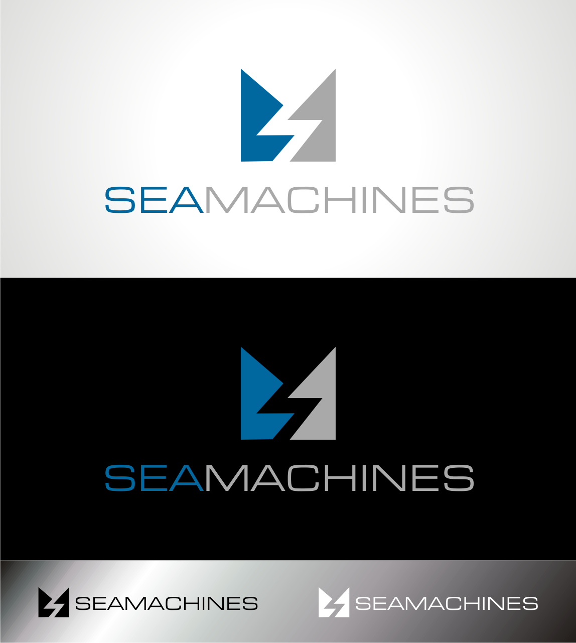 Logo Design by Heru budi Santoso - Entry No. 141 in the Logo Design Contest Creative Logo Design for SeaMachines.