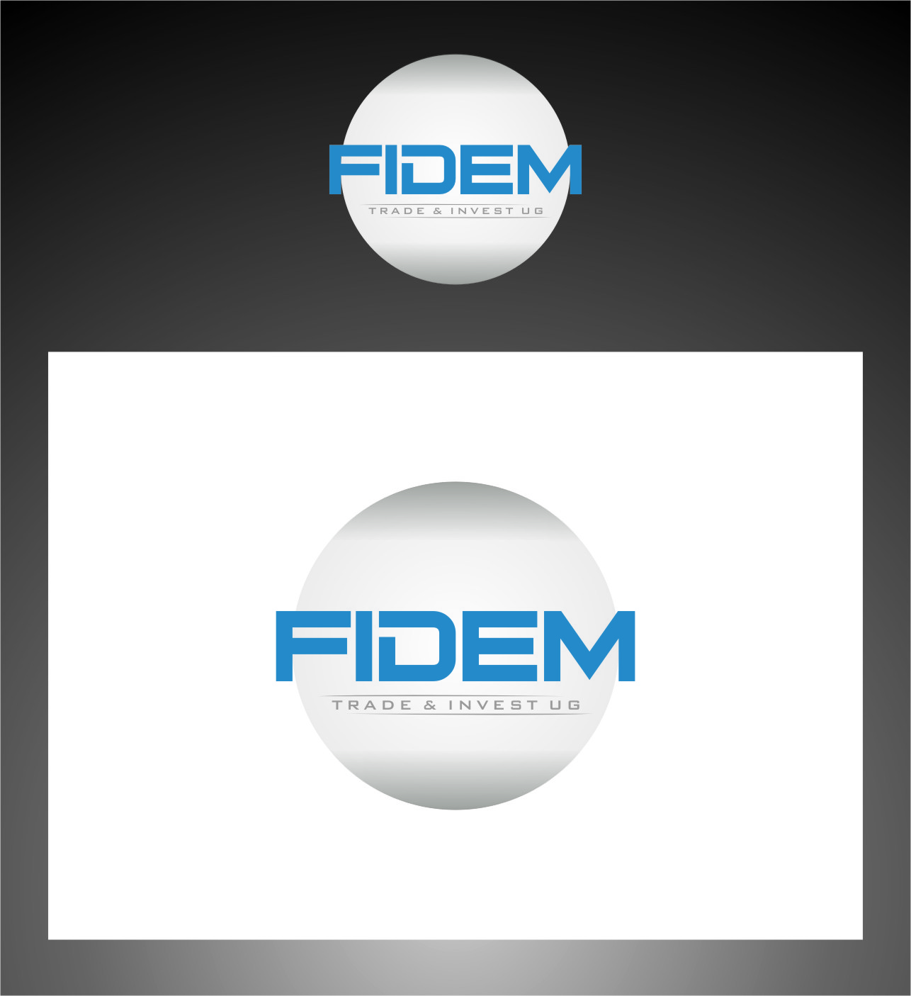 Logo Design by Ngepet_art - Entry No. 358 in the Logo Design Contest Professional Logo Design for FIDEM Trade & Invest UG.