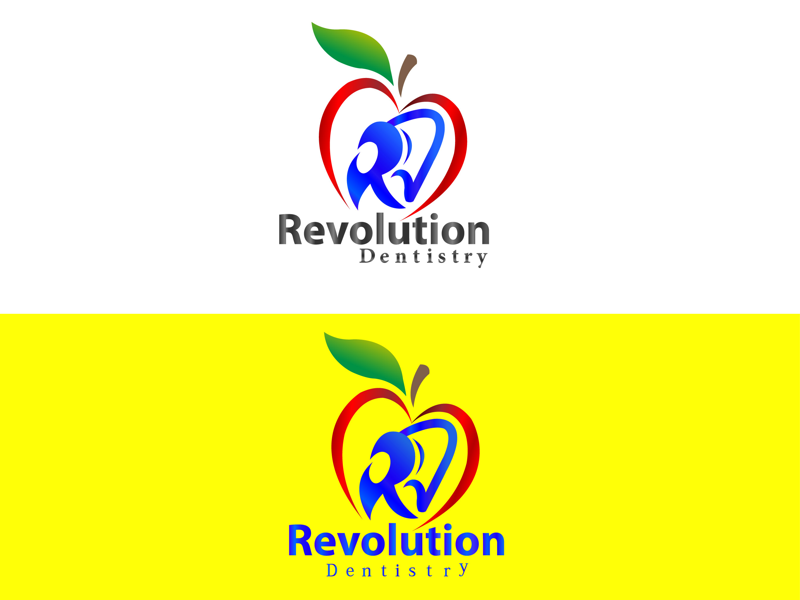 Logo Design by Kishor Patil - Entry No. 85 in the Logo Design Contest Artistic Logo Design for Revolution Dentistry.