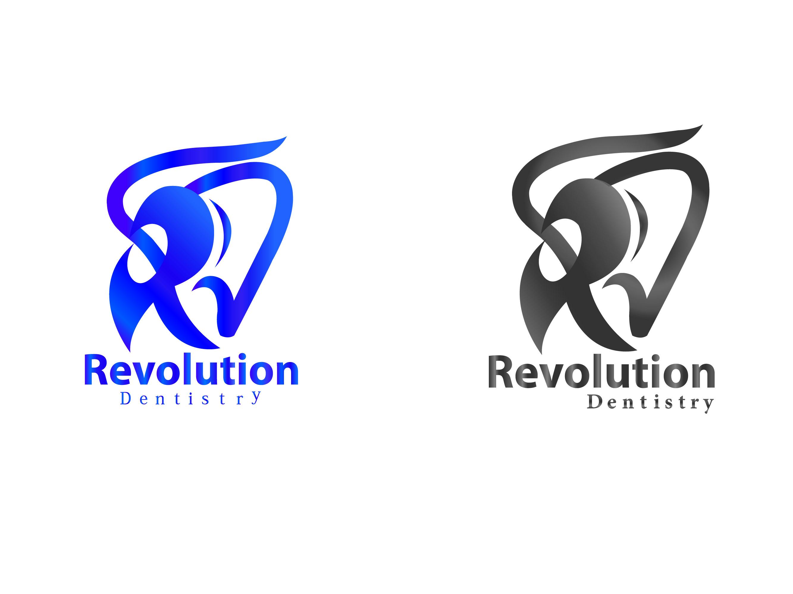 Logo Design by Kishor Patil - Entry No. 86 in the Logo Design Contest Artistic Logo Design for Revolution Dentistry.