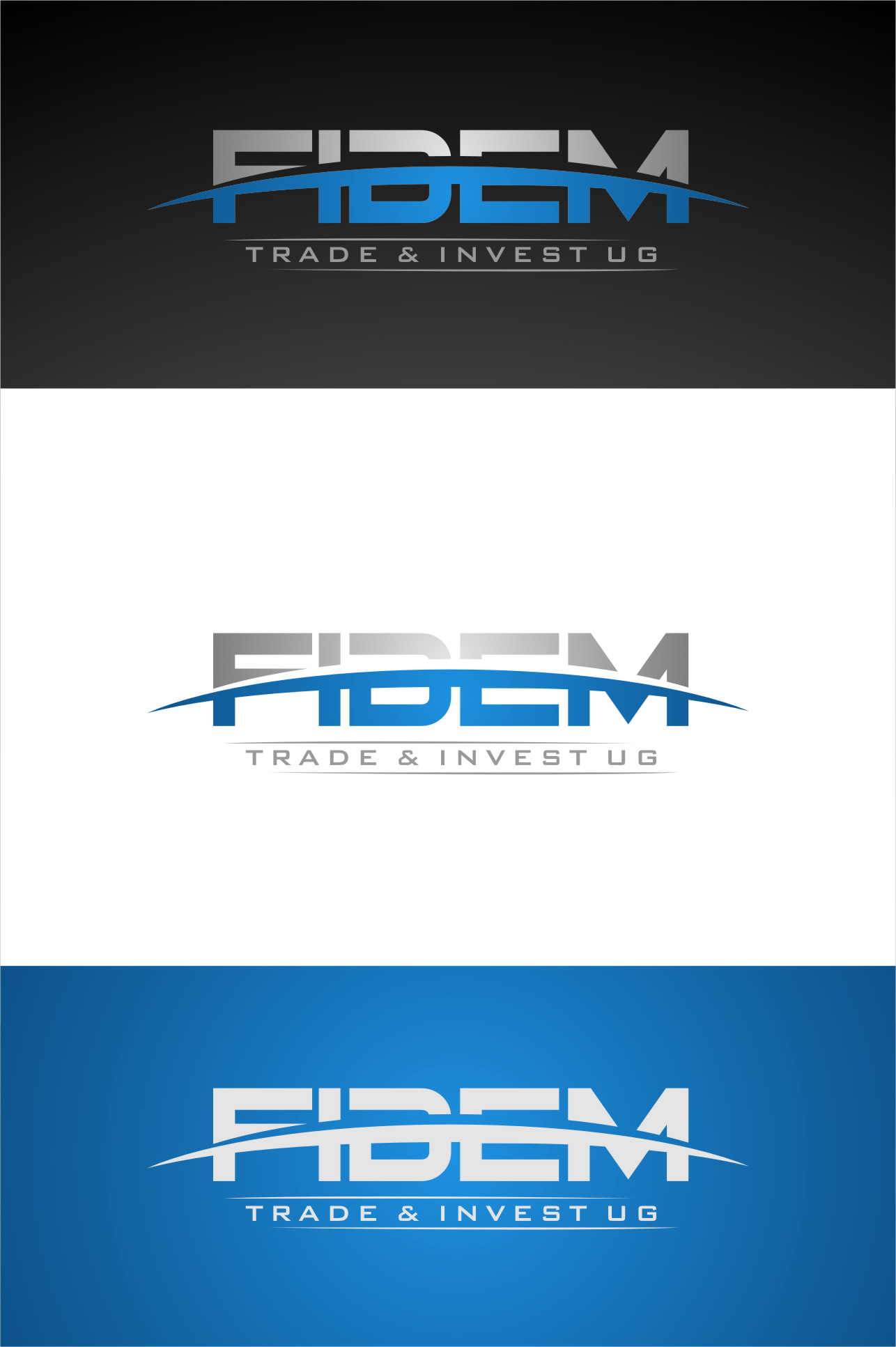 Logo Design by RasYa Muhammad Athaya - Entry No. 360 in the Logo Design Contest Professional Logo Design for FIDEM Trade & Invest UG.