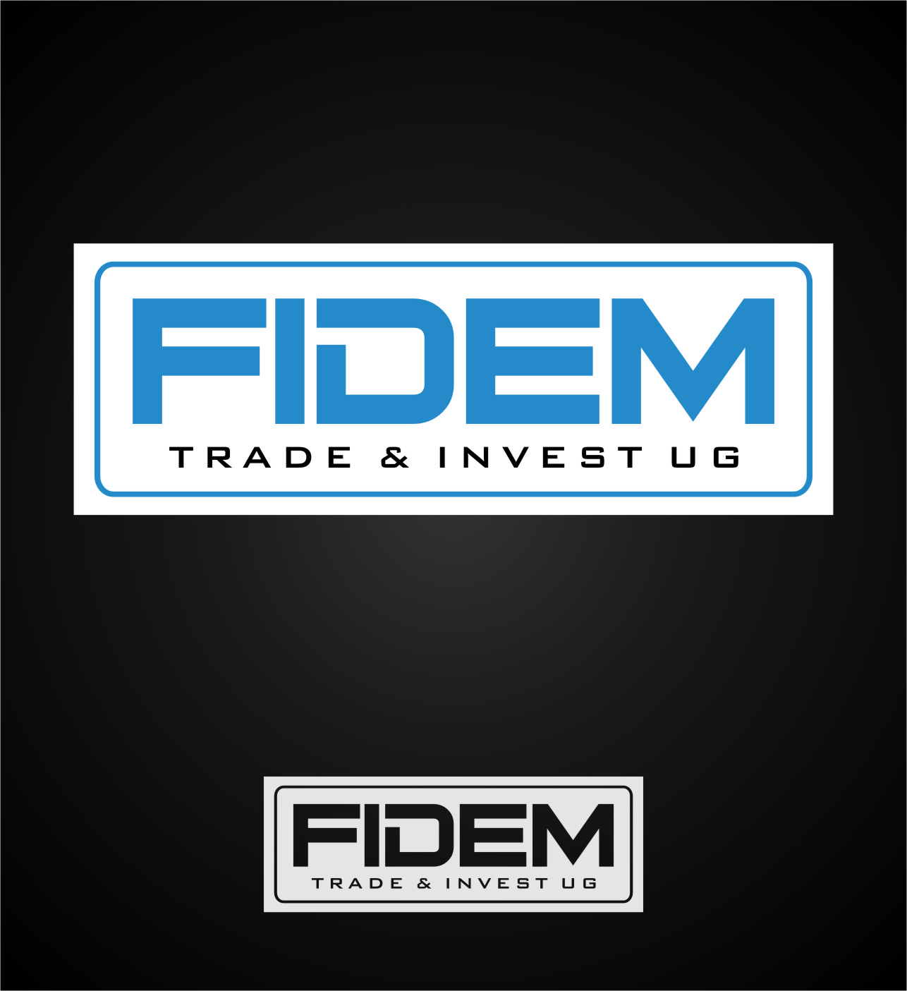Logo Design by Ngepet_art - Entry No. 362 in the Logo Design Contest Professional Logo Design for FIDEM Trade & Invest UG.