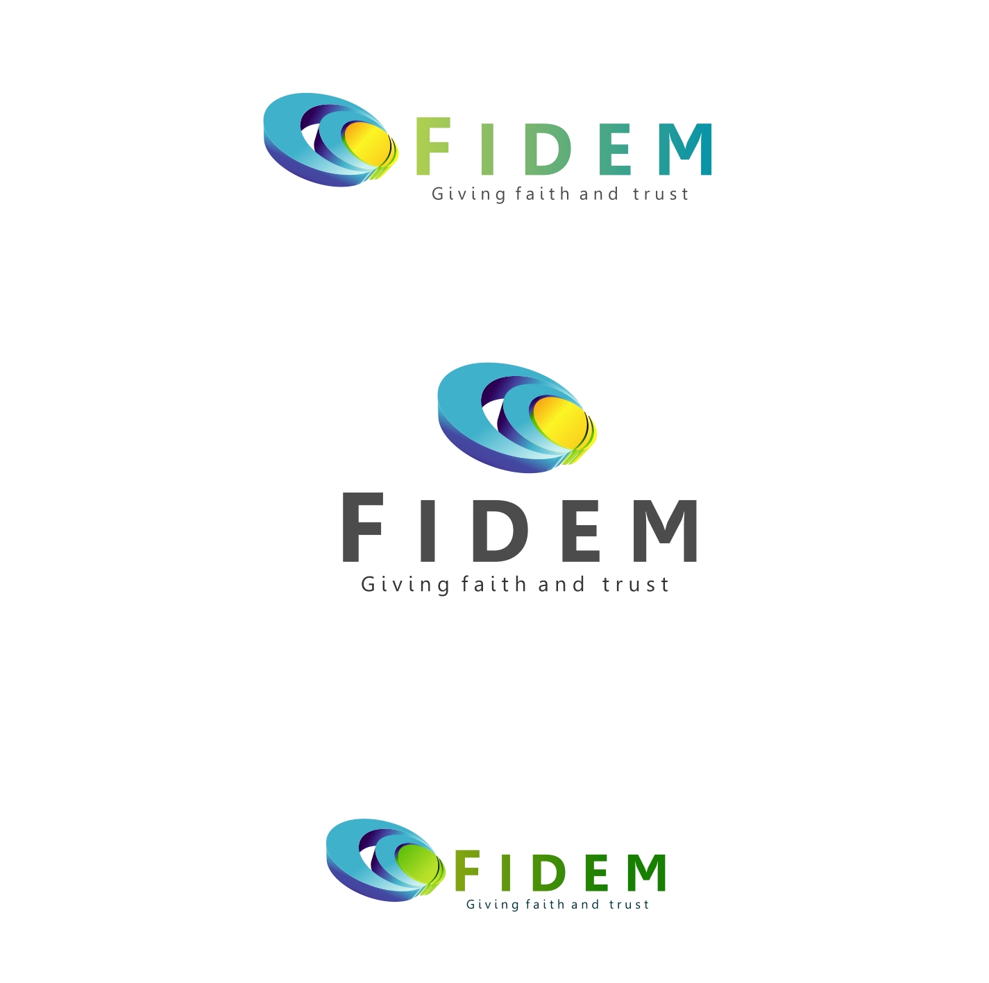 Logo Design by Private User - Entry No. 363 in the Logo Design Contest Professional Logo Design for FIDEM Trade & Invest UG.