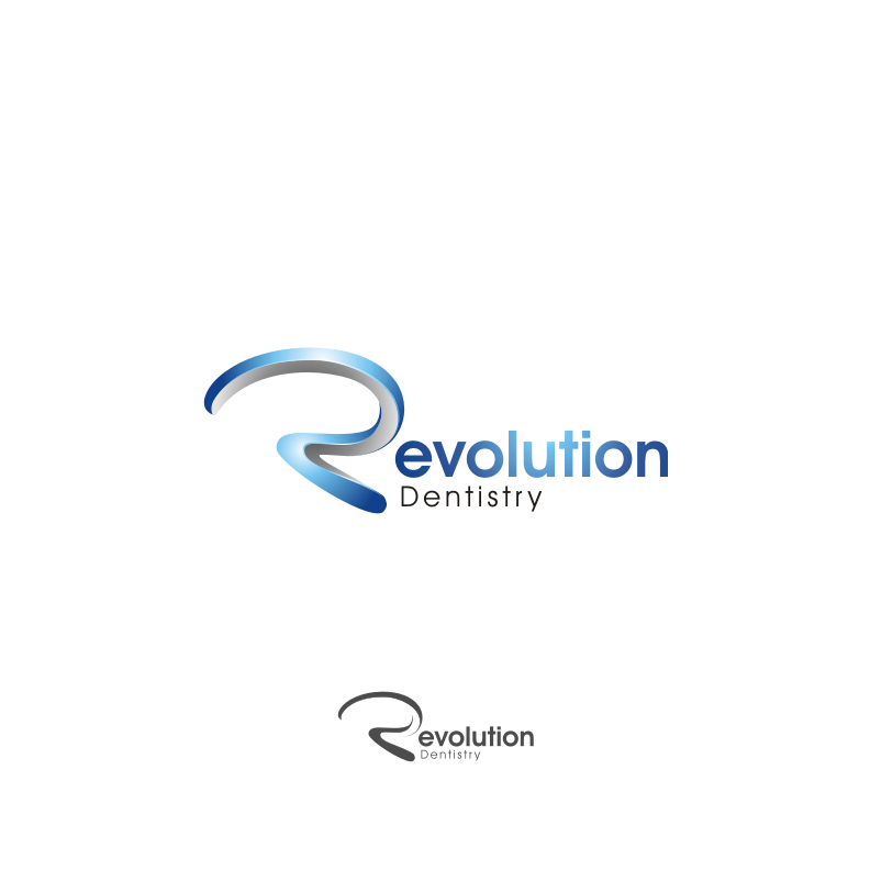 Logo Design by graphicleaf - Entry No. 90 in the Logo Design Contest Artistic Logo Design for Revolution Dentistry.