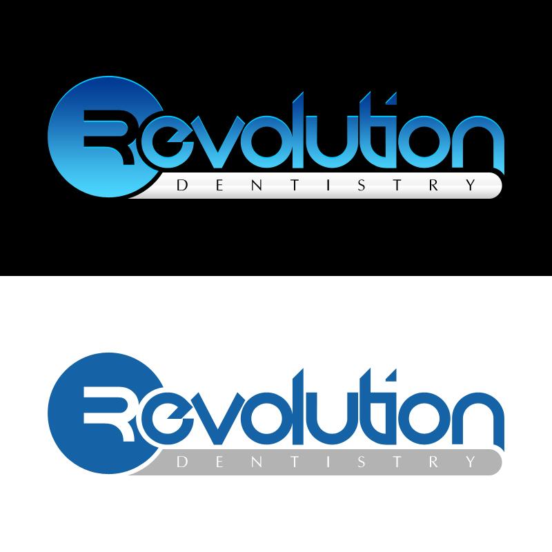 Logo Design by Indika Kiriella - Entry No. 91 in the Logo Design Contest Artistic Logo Design for Revolution Dentistry.