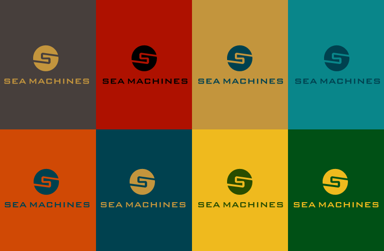Logo Design by Jan Chua - Entry No. 151 in the Logo Design Contest Creative Logo Design for SeaMachines.