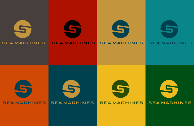 Logo Design by Jan Chua - Entry No. 152 in the Logo Design Contest Creative Logo Design for SeaMachines.