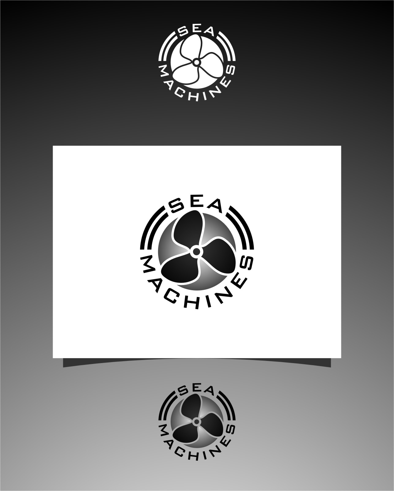 Logo Design by Ngepet_art - Entry No. 153 in the Logo Design Contest Creative Logo Design for SeaMachines.